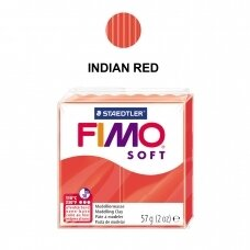 FIMO® Soft Modelling Clay (oven-bake) Indian Red 57g