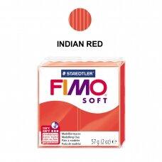 FIMO® Soft modelinas (kietėjantis aukštoje temperatūroje) Indian Red 57g