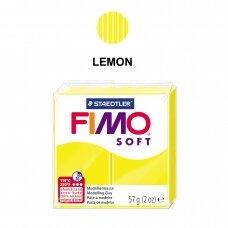 FIMO® Soft modelinas (kietėjantis aukštoje temperatūroje) Lemon 57g