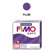 FIMO® Soft Modelling Clay (oven-bake) Plum 57g