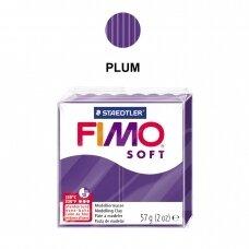 FIMO® Soft modelinas (kietėjantis aukštoje temperatūroje) Plum 57g