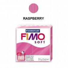 FIMO® Soft modelinas (kietėjantis aukštoje temperatūroje) Raspberry 57g