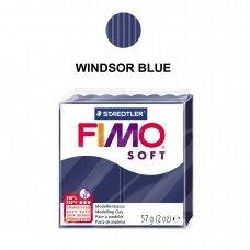 FIMO® Soft modelinas (kietėjantis aukštoje temperatūroje) Windsor Blue 57g