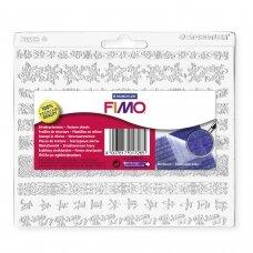 "FIMO® tekstūrinis lapas modelinui 16x15cm ""Decorative Trim"""