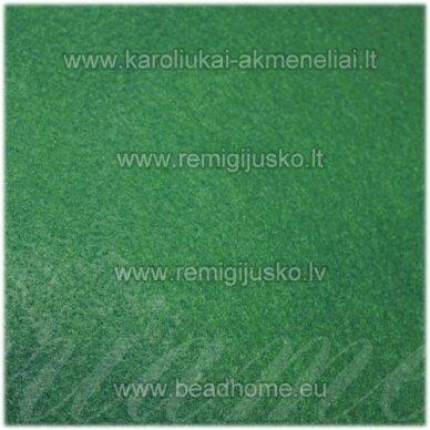 fil0005 apie 330 x 420 x 1 mm, filcas, tamsi, žalia spalva, 1 vnt.