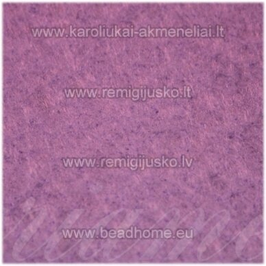 fil0015 apie 330 x 420 x 1 mm, filcas, šviesi, purpurinė spalva, 1 vnt.
