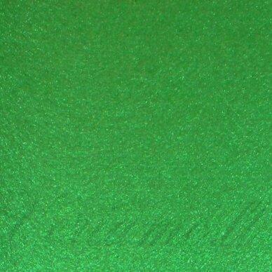 fil0071 apie 330 x 420 x 1 mm, žalia spalva, filcas, 1 vnt.