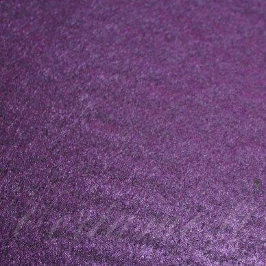 fil0098 apie 330 x 420 x 1 mm, tamsi, violetinė spalva, filcas, 1 vnt.