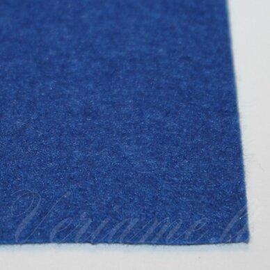 fil0103 apie 330 x 420 x 1 mm, mėlyna spalva, filcas, 1 vnt.