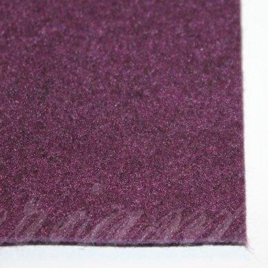 fil0110 apie 330 x 420 x 1 mm, violetinė spalva, filcas, 1 vnt.