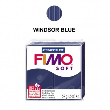 FIMO® Soft Modelling Clay (oven-bake) Windsor Blue 57g