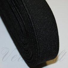 GM0016 apie 35 mm, juoda spalva, guma, 1 m.