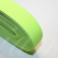 gm0023 about 20 mm, bright, light green color, gum, 1 m.