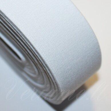 GM0017 apie 09 mm, balta spalva, guma, 1 m.