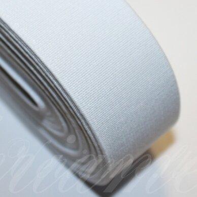 GM0017 apie 40 mm, balta spalva, guma, 1 m.