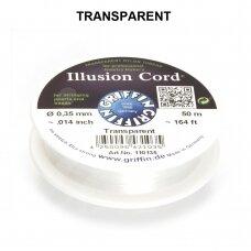 Griffin® Illusion virvelė .014in/0.35mm Transparent (50m/164ft)