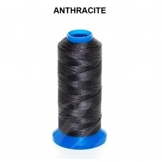 Griffin® nailoninis siūlas 1.5mm diametro Anthracite (80m)