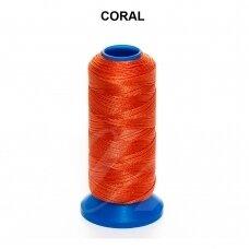 Griffin® nailoninis siūlas 1.5mm diametro Coral (80m)