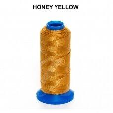 Griffin® nailoninis siūlas 1.5mm diametro Honey Yellow (80m)