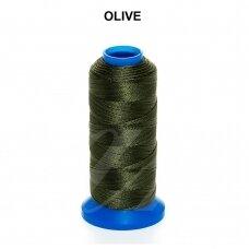 Griffin® nailoninis siūlas 1.5mm diametro Olive (80m)