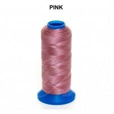 Griffin® nailoninis siūlas 1.5mm diametro Pink (80m)