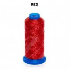 Griffin® nailoninis siūlas 1.5mm diametro Red (80m)