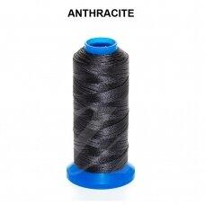 Griffin® nailoninis siūlas 1mm diametro Anthracite (120m)