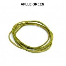 Griffin® odinė virvelė 1.3mm diametro Apple Green (100cm)