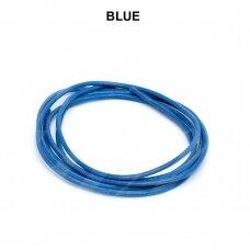 Griffin® odinė virvelė 1.3mm diametro Blue (100cm)