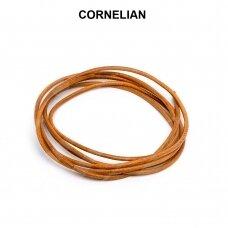Griffin® odinė virvelė 1.3mm diametro Cornelian (100cm)