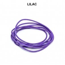 Griffin® odinė virvelė 1.3mm diametro Lilac (100cm)