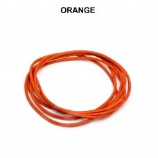 Griffin® odinė virvelė 1.3mm diametro Orange (100cm)