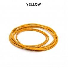 Griffin® odinė virvelė 1.3mm diametro Yellow (100cm)
