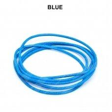 Griffin® odinė virvelė 2mm diametro Blue (100cm)