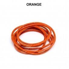 Griffin® odinė virvelė 2mm diametro Orange (100cm)