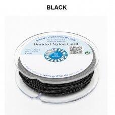 Griffin® pinta nailoninė virvelė 0.30mm diametro Black (50m)