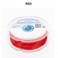 Griffin® pinta nailoninė virvelė 0.30mm diametro Red (50m)