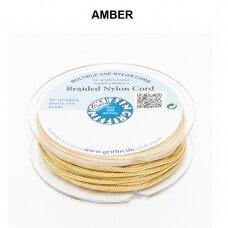 Griffin® pinta nailoninė virvelė 1.2mm diametro Amber (25m)