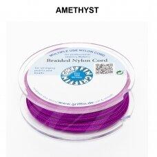 Griffin® pinta nailoninė virvelė 1.2mm diametro Amethyst (25m)