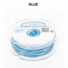 Griffin® pinta nailoninė virvelė 1.2mm diametro Blue (25m)