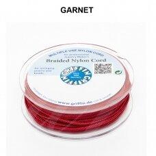 Griffin® pinta nailoninė virvelė 1.2mm diametro Garnet (25m)