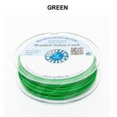 Griffin® pinta nailoninė virvelė 1.2mm diametro Green (25m)