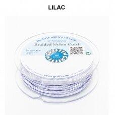 Griffin® pinta nailoninė virvelė 1.2mm diametro Lilac (50m)