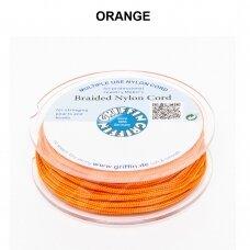 Griffin® pinta nailoninė virvelė 1.2mm diametro Orange (25m)