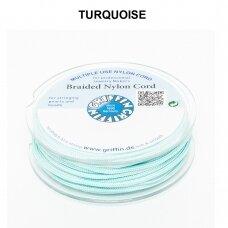 Griffin® pinta nailoninė virvelė 1.2mm diametro Turquoise (25m)