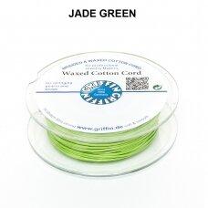 Griffin® vaškuota medvilninė virvelė 1mm diametro Jade Green (20m)