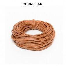 Griffin® vaškuota medvilninė virvelė 2.5mm diametro Cornelian (5m)