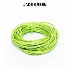 Griffin® vaškuota medvilninė virvelė 2.5mm diametro Jade Green (5m)