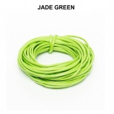 Griffin® vaškuota medvilninė virvelė 2mm diametro Jade Green (5m)