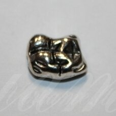 ind0506 about 15 x 11 x 6 mm, metal color, metal insertion, 1 pc.